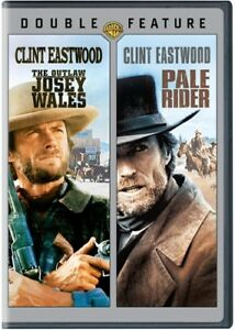 The-Outlaw-Josey-Wales-Pale-Rider-New-DVD-2-Pack-Eco-Amaray-Case