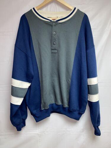 Vintage 90s Seafood Surfboard Smallpony Colourblok Sweatshirt