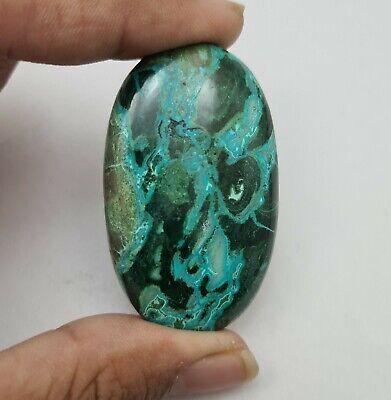 Chrysocolla Malachite Cabochon Gemstone 31X25 mm