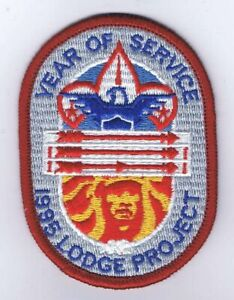 Boy-Scout-OA-1995-Lodge-Project-Year-of-Service-Patch