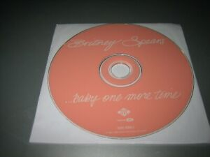 Baby-One-More-Time-by-Britney-Spears-CD-Jul-1999-Zomba-USA-Disc-Only