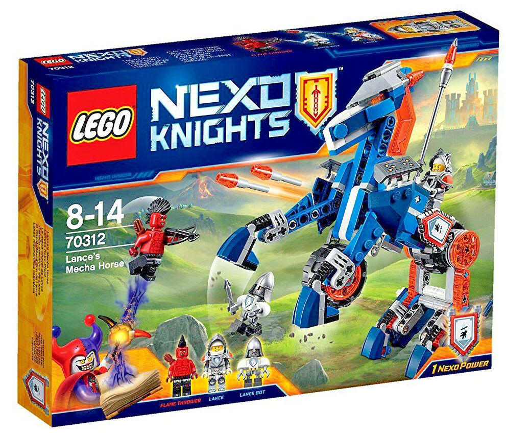 LEGO LEGO LEGO 70312  - Nexo Knights Lance's Mecha Horse Playset 70b74d