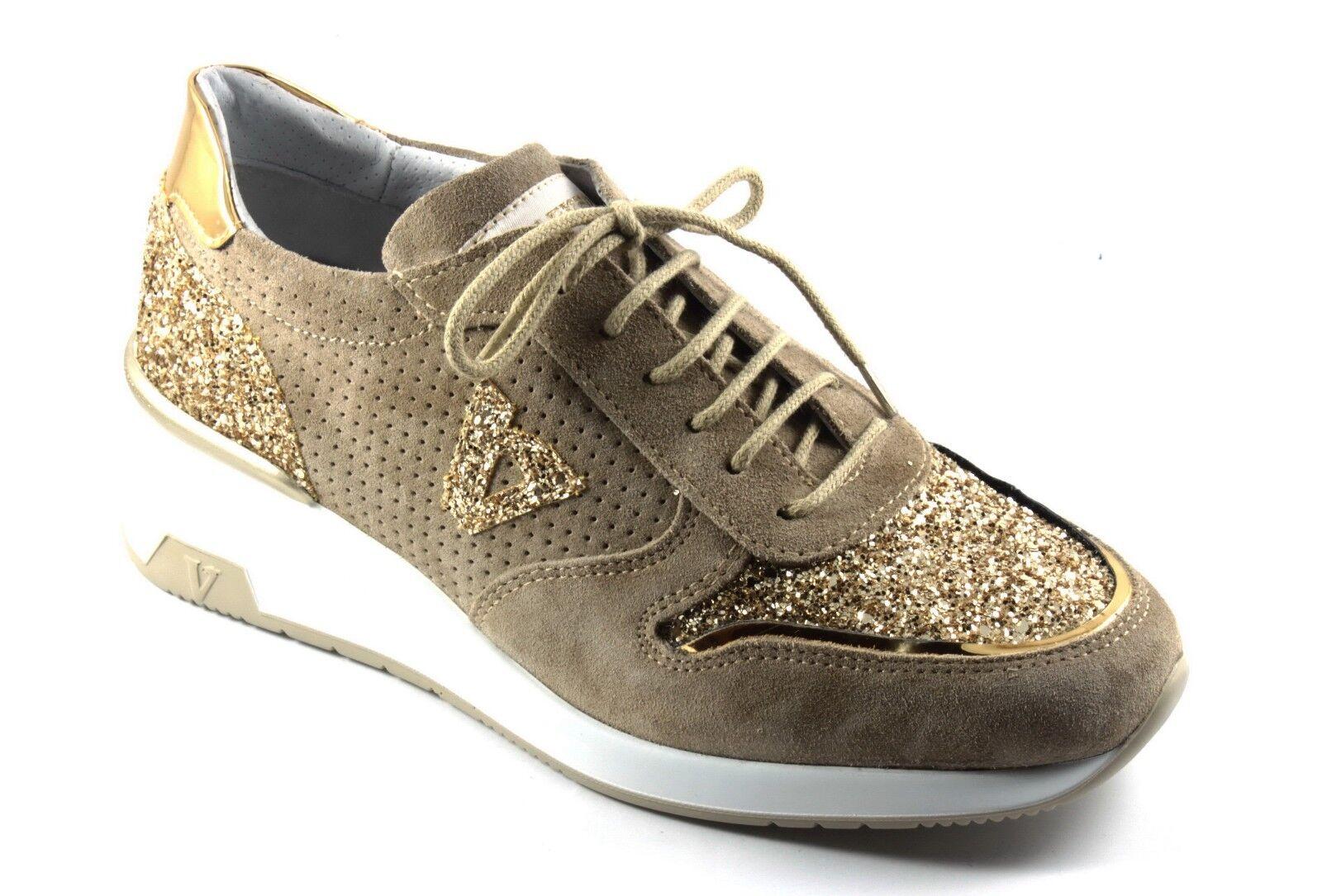 VALLEverde zapatos zapatillas TENNIS mujer CASUAL ZEPPA ALLACCIATE SABBIA n.36 n.36 n.36  Esperando por ti