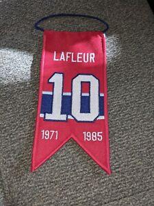 Guy Lafleur (Montreal Canadiens) Retirement Banner