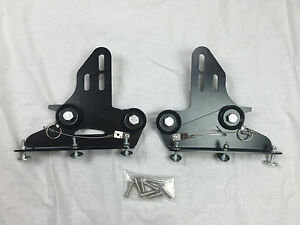 Details about Quick release Front Bumper Wind Splitter Support Brackets  92-00 civic 94 integra