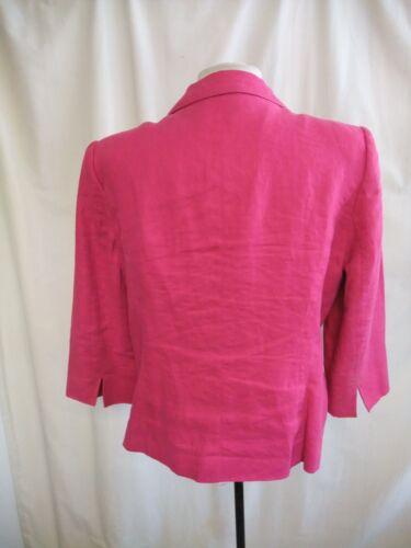 Pure Uk 42 14 1762 Jacket Windsmoor Ladies Linen Pink Sleeves Eu 4 3 pqBS0