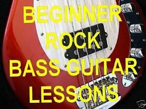 learn beginner rock bass guitar dvd lessons video ebay. Black Bedroom Furniture Sets. Home Design Ideas