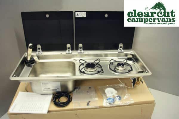Diagram Campervan Smev 9722 Combination Unit Hob R H Sink Tap