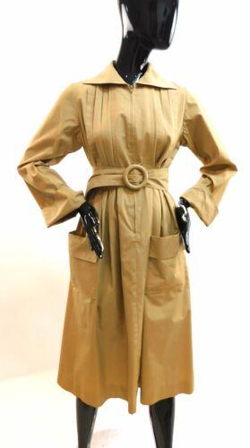 Vintage 1970s Albert Nipon pleated trench coat dre