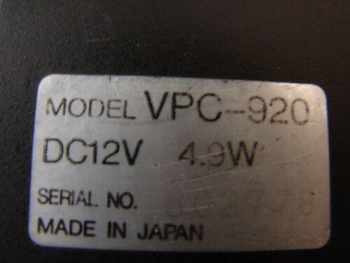 Toshiba VPC-920 CAMERA MICROSCOPE CCD DIGITAL COLOR