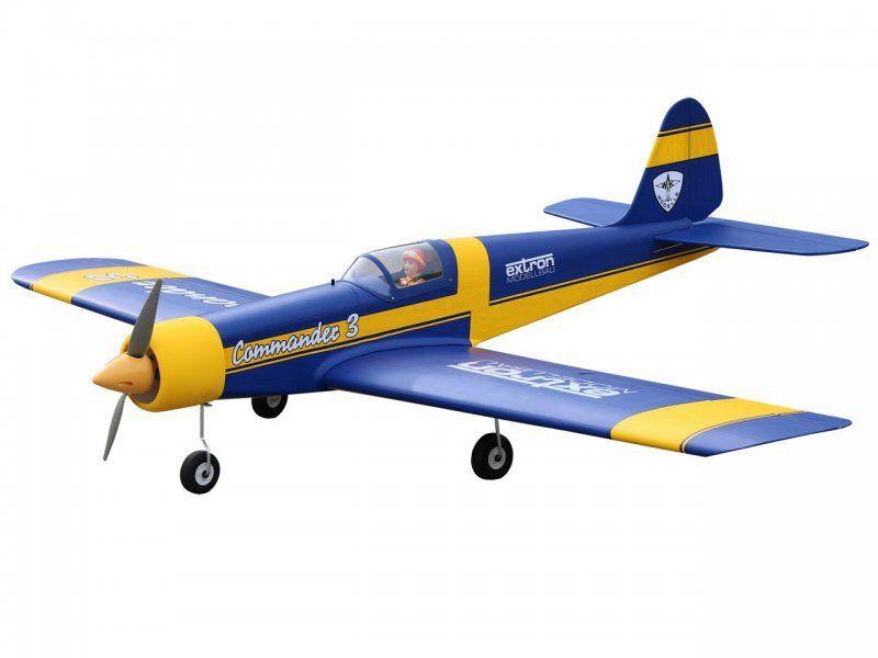 Extron Commander 3 Arf Azul 1550mm Modelo Acrobático X8981