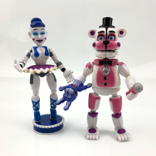 5 pcs Five Nights at Freddy/'s Sister Location Action Figures Set Party Toys Gift