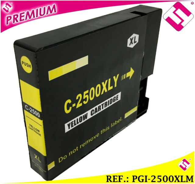 INCHIOSTRO GIALLO PGI 2500 XL COMPATIBILE CARTUCCIA GIALLO STAMPANTE CANON ICT