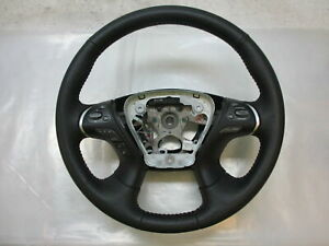 2018-Nissan-Pathfinder-SL-Black-Leather-Steering-Wheel-OEM-9PM3A-LKQ