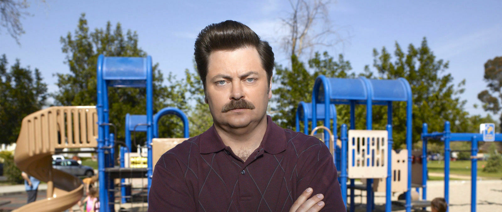 PARKING PASSES ONLY Nick Offerman