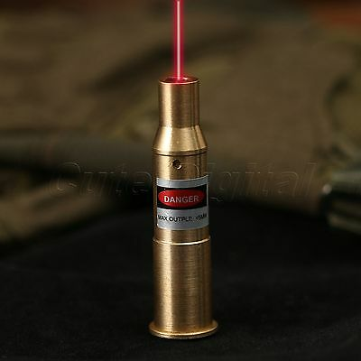 7.62 x 54R Cartridge Red Dot Laser Sight Bore Sighter Boresighter Brass Hunting