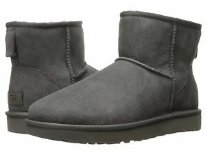 5ad36fb49fb Details about Women's Shoes UGG Classic Mini II Boots 1016222 Grey 5 6 7 8  9 10 11 *New*