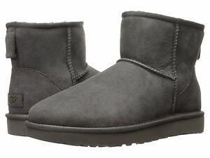 Women-039-s-shoes-UGG-classic-mini-II-Stivali-Grigio-1016222-5-6-7-8-9-10-11-NUOVO