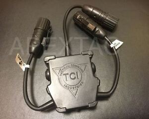 Z-Tactical-R-3-U-Series-Dual-PTT-Push-To-Talk-Device-Z131-Kenwood-2-Pin-Other