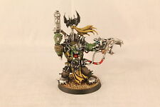 Warhammer Ork Assault on Black Reach Captain Pro Painted