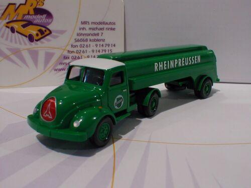 "Wiking 0800 49 # Magirus S 3500 Tankwagen Sattelzug /"" Rheinpreussen /"" 1:87 NEU"
