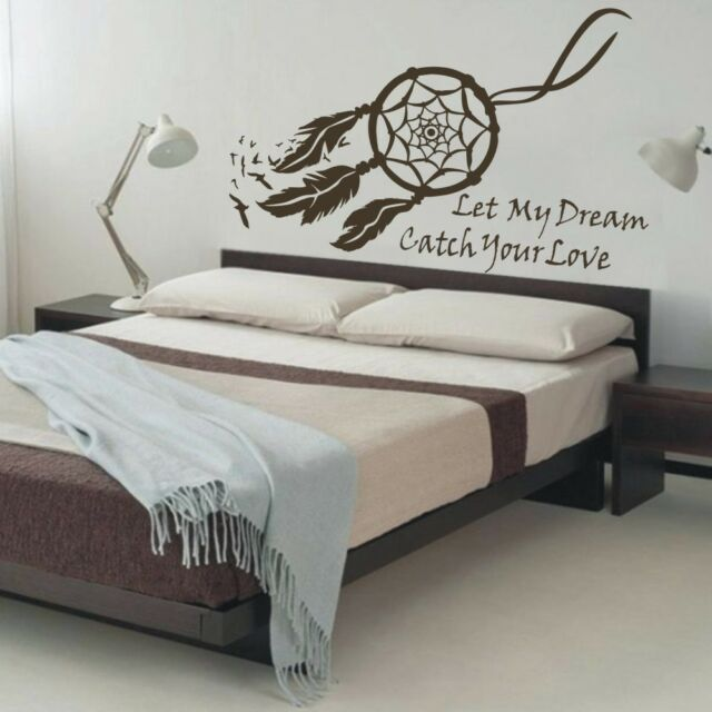 Dream Catcher Wall Decal Quote Symbol Nursery Baby Bedroom Vinyl Removable Decor For Sale Online,How To Build A New House In Bloxburg