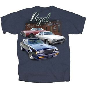 GM-Chevrolet-Buick-Regal-DARK-HEATHER-Adult-T-shirt