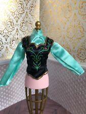 Signature Anna Frozen Doll Top Disney Store Princess Mattel Glitter