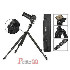 Professional-Ball-Head-Tripod-Stand-For-Canon-Nikon-Sony-Camera-DSLR-WF-6662A-UK
