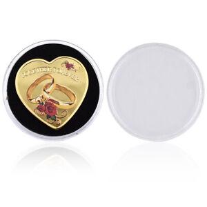 Birthday Souvenir Gifts 999.9 Silver Coin Girl Friend Lovely Coin Christmas