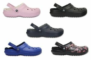 d41c1c246291 Image is loading Crocs-Adults-Unisex-Classic-Lined-Faux-Fur-Clogs