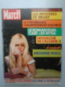 PARIS-MATCH-n-1213-de-72-Brigitte-Bardot-Echecs-Fisher-Spassky-Sylvie-Vartan