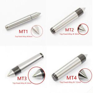 1MT Carbide Tipped Single Point Dead Center Morse Taper MT1 Lathe 60 Degree