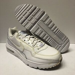 cheaper 366f1 9794b Image is loading NIKE-AIR-MAX-LTD-LIMITED-ALL-WHITE-RUNNING-