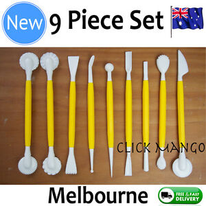 9-Piece-Cake-Decorating-Fondant-Icing-Paste-Flower-Modelling-Tools-Set