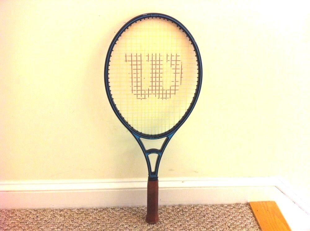 Wilson  Sting Grandes cabeza Grafito Raqueta De Tenis Agarre Talla 4 5 8 Excelente Estado  tienda de bajo costo
