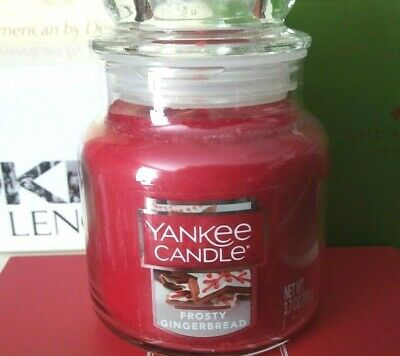 Frosty Gingerbread Yankee Candle Small Jar Scented Candle