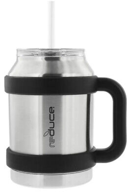Reduce Cold 1 Thermal Mug Wide Bottom 3 In 1 Lid Straw 50 Oz Stainless Steel Ebay