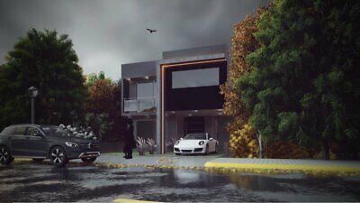 en arboledas de san javier con 4 recamaras y baño completo en cada una, con roof Garden en 280 m2