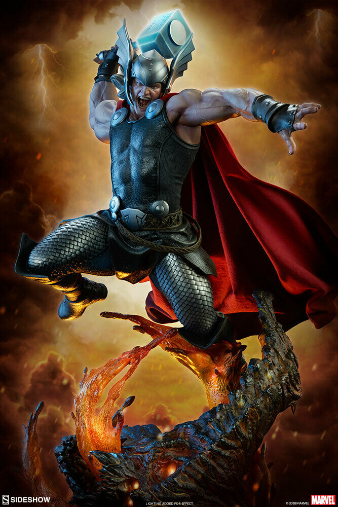 SIDESHOW Thor Premium Format Statue MINT NEW