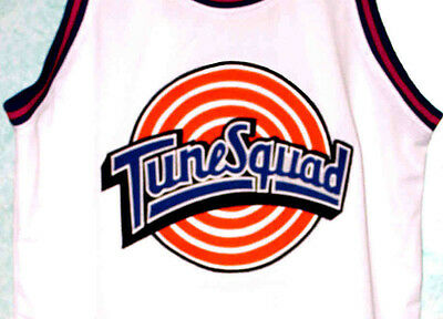 COYOTE TUNE SQUAD SPACE JAM MOVIE BASKETBALL JERSEY SEWN  NEW ANY SIZE WILE E
