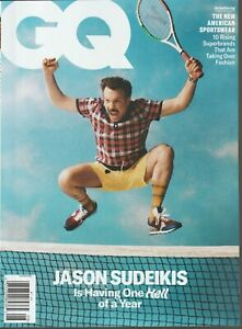 GQ Gentlemen's Quarterly August 2021 Jason Sudeikis Free Fast SnH Best Deal L@@K