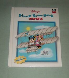 Book-HC-Disney-Wonderful-World-of-Reading-FIRST-Yearbook-2003