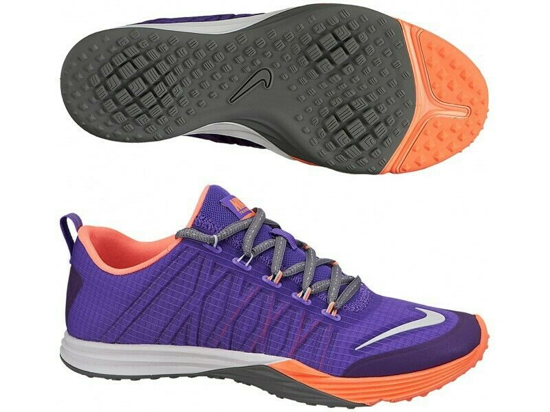 Nike Womens Wmns Lunar Cross Element 653528-500  bluee Sports Running shoes NEW Size 38  welcome to order