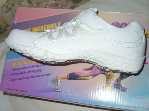 "Youth Girl/'s Skechers Breathe Easy-Head Of Class Shoe Choice Sz Med /""LOOK/"" NWB"