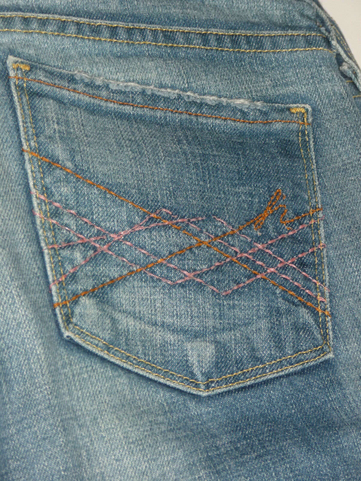 EUC Citizens of Humanity Naomi Low Waist Flare Light Cordoba Jeans 29 x29