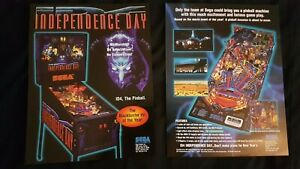 1x Independence Day - Sega - ORIGINAL NOS Promotional Advertising Flyer