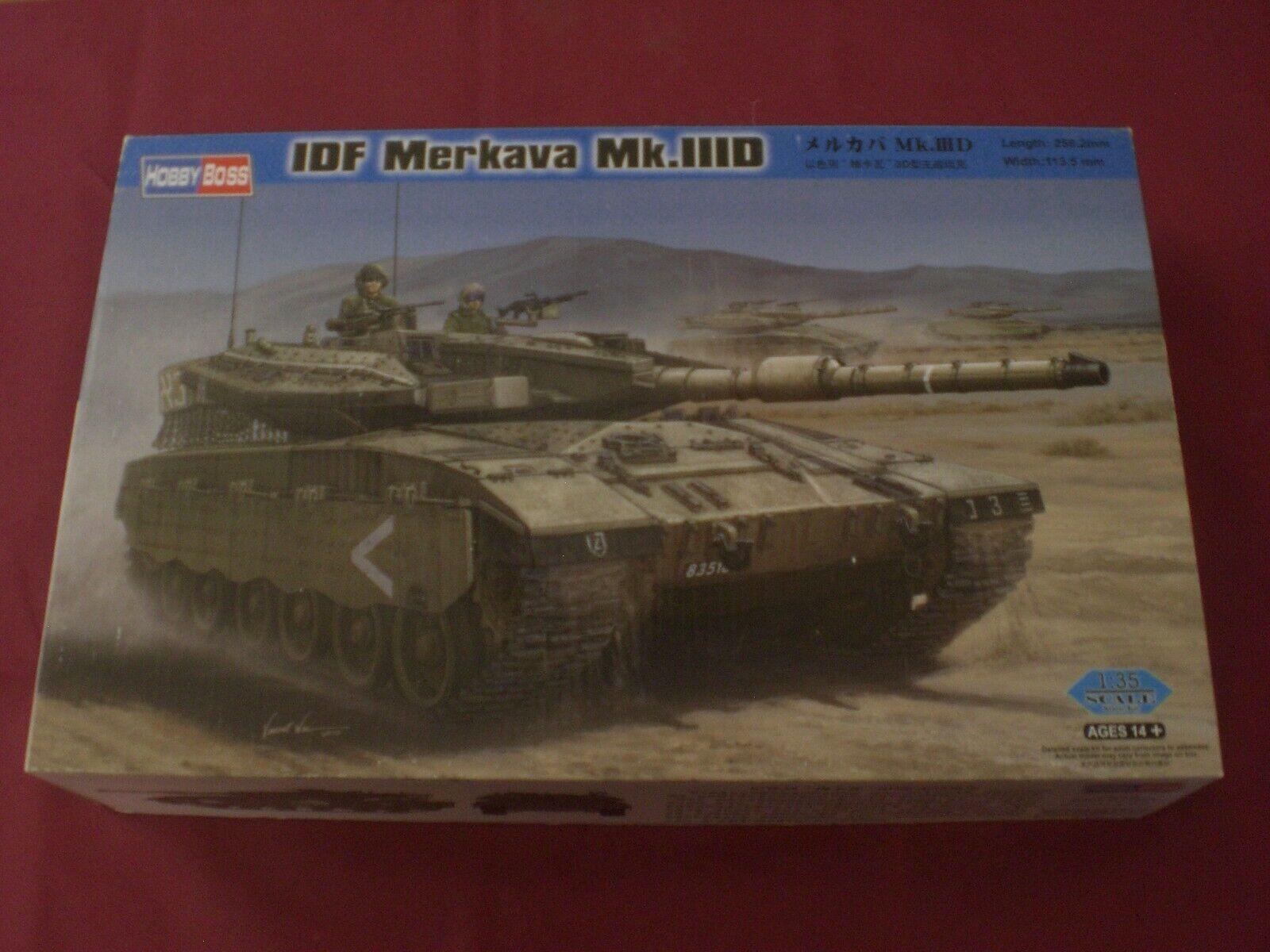 IDF Merkava  Mk.IIID - SCALA 1 35 Trumpeter