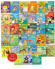 Oxford Reading Tree Read With Biff Chip Kipper Collection 33 Books Set in Bag