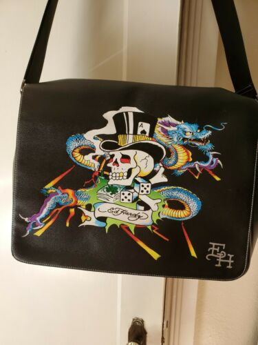 Ed Hardy Laptop Messenger Bag